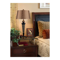 Dimond Lighting D1738 Laurie 35 inch 150 watt Dunbrook and Dark Wood Table Lamp Portable Light in Incandescent alternative photo thumbnail