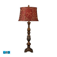 Dimond Lighting Chaplin 1 Light Table Lamp in Antigua Bronze D1756-LED
