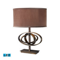 Dimond Lighting Jordan 1 Light Table Lamp in Oil Rubbed Bronze D1803-LED