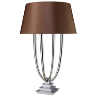 Harris 34 inch 60 watt Chrome Table Lamp Portable Light in Incandescent