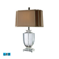 Dimond Lighting Layfette 1 Light Table Lamp in Clear Crystal D1814-LED