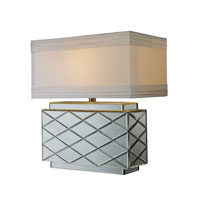Dimond Wellsville 1 Light Table Lamp in Mirrored D1835