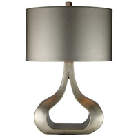 Dimond Carolina 1 Light Table Lamp in Silver Leaf D1840