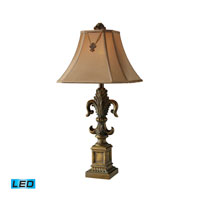 Dimond Lighting Bainbridge 1 Light Table Lamp in Mccoubrey Bronze D1841-LED