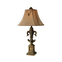 Dimond Bainbridge 1 Light Table Lamp in McCoubrey Bronze D1841