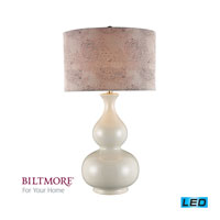 Dimond Lighting Biltmore For Your Home  Esplanade 1 Light Table Lamp in Cream Crackle D2007-LED