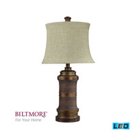 Dimond Lighting Biltmore For Your Home  Billiard 1 Light Table Lamp in Frazer Bronze D2027-LED