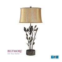 Dimond Lighting Biltmore For Your Home  Winter Garden 1 Light Table Lamp in Aria Bronze D2032-LED