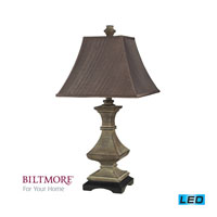 R.M. Hunt 28 inch 13.5 watt Grenadine Stone Table Lamp Portable Light