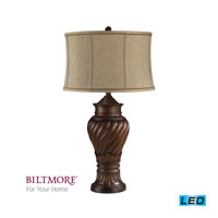 Dimond Lighting Biltmore For Your Home  Commodore 1 Light Table Lamp in Lake Ridge D2038-LED