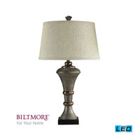 Dimond Lighting Biltmore For Your Home  Edith 1 Light Table Lamp in Cahors Silver D2039-LED