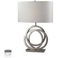 Dimond Lighting D2058-HUE-D Trinity 25 inch 60 watt Polished Nickel Table Lamp Portable Light