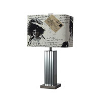 Dimond Meade 1 Light Table Lamp in Black Nickel D2159