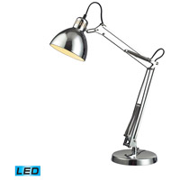 Dimond Lighting Ingelside 1 Light LED Desk Lamp in Chrome D2176-LED