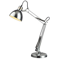 Dimond Ingelside 1 Light Desk Lamp in Chrome D2176