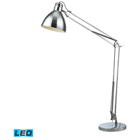 Ingelside 63 inch 13.5 watt Chrome Floor Lamp Portable Light in LED