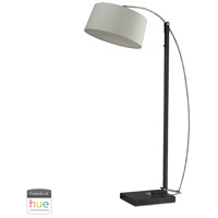Dimond Lighting D2183-HUE-B Logan Square 36 inch 60 watt Dark Brown Floor Lamp Portable Light