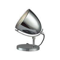 Dimond Arlington 1 Light Task Lamp in Chrome D2184 photo thumbnail
