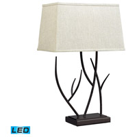Dimond Lighting Winter Harbour 1 Light Table Lamp in Bronze D2209-LED