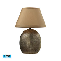 Dimond Lighting Gilead 1 Light Table Lamp in Meknes Bronze D2221-LED