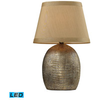 Dimond Lighting Gilead 1 Light Table Lamp in Meknes Bronze D2222-LED
