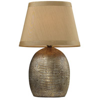 Dimond Lighting D2222 Gilead 21 inch 60 watt Meknes Bronze Table Lamp Portable Light in Incandescent