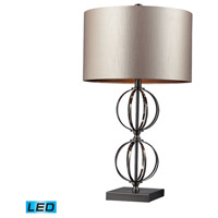 Dimond Lighting Danforth 1 Light Table Lamp in Coffee Plating D2224-LED