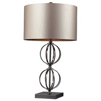 Dimond Danforth 1 Light Table Lamp in Coffee Plating D2224