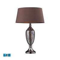 Dimond Lighting Perth 1 Light Table Lamp in Bronze Mosaic / Coffee Plating D2233-LED