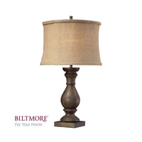 Dimond Biltmore For Your Home Pisgah 1 Light Table Lamp in Dark Oak D2241