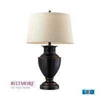Dimond Lighting Biltmore For Your Home  Cornelius 1 Light Table Lamp in Dark Bronze D2245-LED