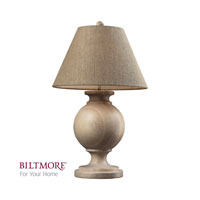 Dimond Biltmore For Your Home Swannanoa 1 Light Table Lamp in Beech Wood D2249