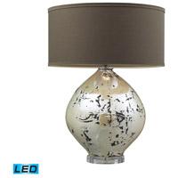 Dimond Lighting Limerick 1 Light Table Lamp in Turrit Gloss Beige D2262-LED