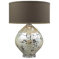 Dimond Lighting D2262 Limerick 25 inch 150 watt Turrit Gloss Beige Table Lamp Portable Light in Incandescent