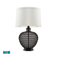 Dimond Lighting Lincoln 1 Light Table Lamp in Bronze With Highlight D2270-LED