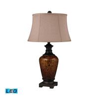 Dimond Lighting Redding 1 Light Table Lamp in Painted Dark Bronze D2316-LED