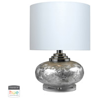 Dimond Lighting D234-HUE-B Signature 20 inch 60 watt Metallic Frost Table Lamp Portable Light