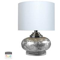 Dimond Lighting D234-HUE-D Signature 20 inch 60 watt Metallic Frost Table Lamp Portable Light