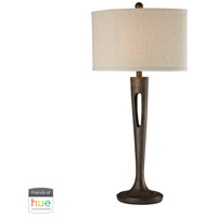 Martcliff 35 inch 60 watt Burnished Bronze Table Lamp Portable Light