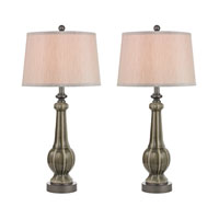 Dimond Sailsbury 1 Light Table Lamp in Georgia Grey Glaze D2446/S2