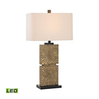 Dimond Shaftesbury 1 Light Table Lamp in Galati Gold D2456-LED