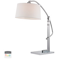 Dimond Lighting D2470-HUE-B Assissi 25 inch 60 watt Polished Nickel Table Lamp Portable Light, Adjustable