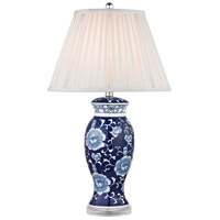 Dimond Blue & White 1 Light Table Lamp in Blue And White Hand Paint D2474