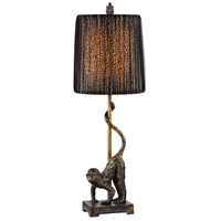 Dimond Lighting D2477 Aston 26 inch 100 watt Bissau Bronze Table Lamp Portable Light