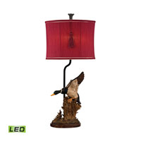Dimond Duck Hunt 1 Light Table Lamp in Whitsun D2482-LED