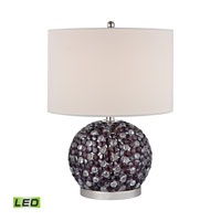 Dimond Amethyst Stone 1 Light Table Lamp in Amethyst Stone D2492-LED