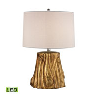 Dimond Solihul 1 Light Table Lamp in Antique Gold D2494-LED