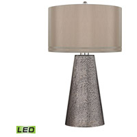 Dimond Stafford 1 Light Table Lamp in Heavy Metal Mercury D2496-LED