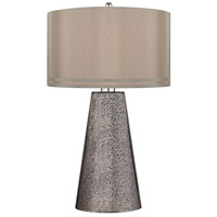 Dimond Stafford 1 Light Table Lamp in Heavy Metal Mercury D2496