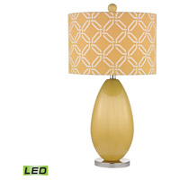 Sevenoakes 25 inch 9.5 watt Sunshine Yellow Table Lamp Portable Light in LED